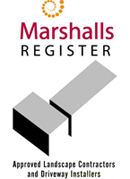 Marshall Approved Landscape Contractors & Driveway Installers Edinburgh Scotland